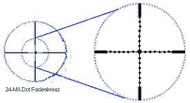Foto 3 Zielfernrohr 3-12x56, Leuchtabsehen