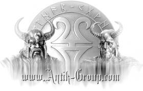 Foto 5 Zierniete CELTIC CIRCLE 25 x 25 mm Silber-Optik