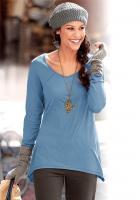 Zipfel-Shirt - Chillytime - blau - Gr. 34 - 36 - 40 - NEU