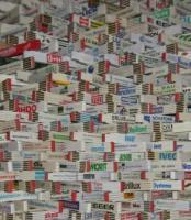 Zollstock Sammlung 700 Stück (Gliedermaßstab & Zollstocksammlung)