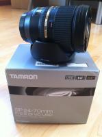 Foto 2 Zoom-Objektiv Tamron 24-70mm 2.8 mit Bildstabilisator für Canon