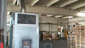 Zu verschenken Solide 800m2 STAHLBETONHALLE Werkhalle / Lagerhalle zur Selbstdemontage
