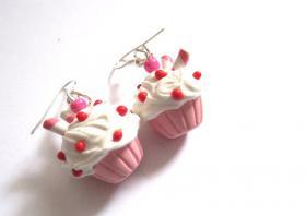 Zuckersüße Törtchen Ohrringe * Modeschmuck *