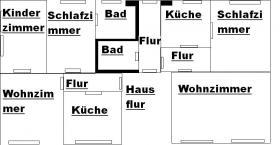 Foto 8 Zwei-Mod-8 Fam-Häuser, Kpr.295.000, -ME-40.000,00-Netto Spitzen Kapital-Anlage! zwei Modernisierte 8 Familien-Häuser Kaufpreis: Haus a)  165.000,00 Euro Haus b) 135.000,00 Euro Angebot-Nr.: <Wu-01110-A-F-On> 42105 Wuppertal- Elberfeld, City- Rand- No