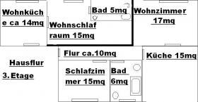 Foto 14 Zwei-Mod-8 Fam-Häuser, Kpr.295.000, -ME-40.000,00-Netto Spitzen Kapital-Anlage! zwei Modernisierte 8 Familien-Häuser Kaufpreis: Haus a)  165.000,00 Euro Haus b) 135.000,00 Euro Angebot-Nr.: <Wu-01110-A-F-On> 42105 Wuppertal- Elberfeld, City- Rand- No