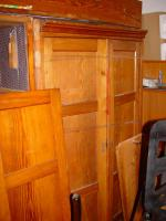 Zwei Schr�nke (Historismus) zu renovieren