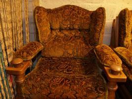 Foto 2 Zwei Sessel und ein 3-Sitzer-Sofa aus feinster Eiche!!!