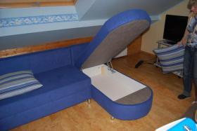 Foto 2 Zwei Sofas in Blau