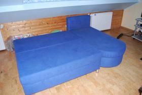 Foto 4 Zwei Sofas in Blau