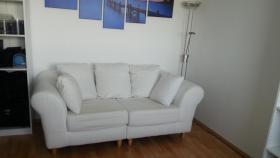 Foto 2 Zwei edle Sofas - Weiß