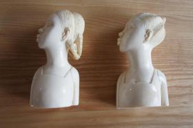 Zwei schöne Skulpturen