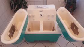 Zwei/vierzellenbad