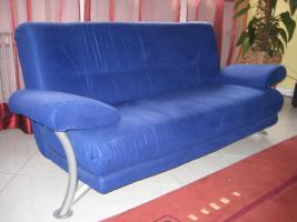 Zweisitzer Couch + Sessel , fast wie neu