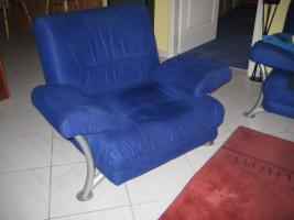 Foto 2 Zweisitzer Couch + Sessel , fast wie neu