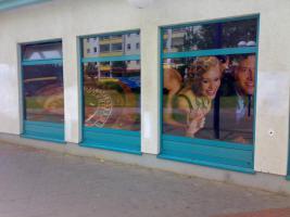 Foto 28 ab 16 €/m² PVC Banner LKW Plane Partybanner Bannerdruck Planendruck Werbebanner Werbeplane Folendruck Folienbeschriftungen Beschriftungen Großformatdruck Berlin