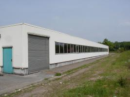 abgebaute Halle (Anbauhalle)