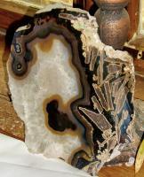 Foto 3 achatscheibe  edelstein mit einzigartigen einschlüssen