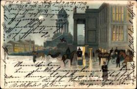 Foto 6 alte Ansichtskarten und Postkarten, alte Bilder Berlin-Mitte