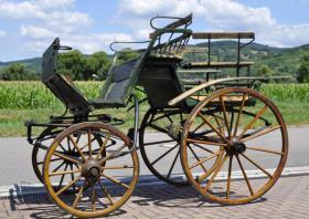 alte Linzer Wagonette (Pferdewagen)