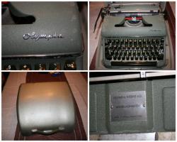 alte Olympia- Schreibmaschine