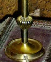 Foto 5 alte lampe bernsteinfarben