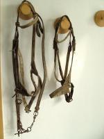 Foto 3 altes Pferdegeschirr(Kummet), Zaumzeug, Zubehör