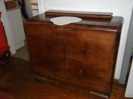 Foto 2 altes wohnzimmerbuffet mit passender kommode
