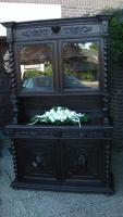 Foto 9 antik esszimmer schrank und tisch mit 6 stüle