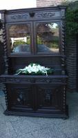 Foto 10 antik esszimmer schrank und tisch mit 6 stüle