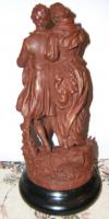 Foto 4 antike Figur aus Metall