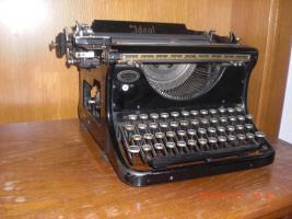 antike Schreibmaschine Naumann-Ideal (ca. 1930) Top Zustand
