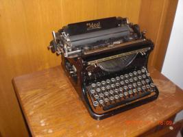 Foto 2 antike Schreibmaschine Naumann-Ideal (ca. 1930) Top Zustand