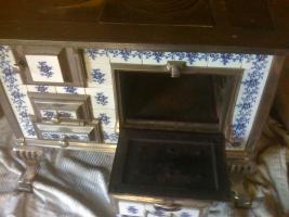 Foto 2 antiker küchenherd - schmuckstück