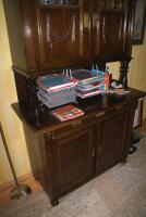 Foto 2 antikes Buffet, antik, Schrank, Eichenbuffet, Ende 19Jh.,