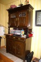 Foto 3 antikes Buffet, antik, Schrank, Eichenbuffet, Ende 19Jh.,