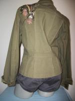 Foto 4 +++ apart +++ kurze Jacke + khaki oliv + S/M + wie neu