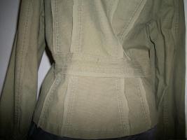 Foto 6 +++ apart +++ kurze Jacke + khaki oliv + S/M + wie neu