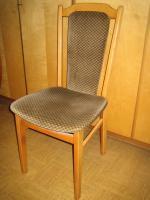 Foto 4 ausziehbarer Tisch + Sessel