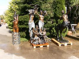 Foto 5 beeindruckende lebensgroße Bronzeskulptur ''Centaurus'' (Belgien)
