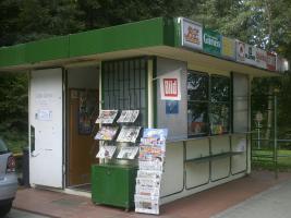 begehbarer Kiosk in Lychen