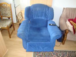 Foto 2 bequemer elektrisch verstellbarer Sessel