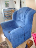 Foto 3 bequemer elektrisch verstellbarer Sessel
