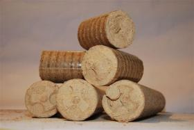 biobric Hartholzbriketts Nestro (biogener Brennstoff)
