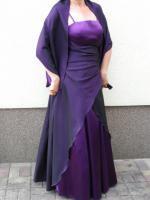 bodenlanges elegantes Abendkleid, nur 1x getragen
