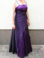 Foto 2 bodenlanges elegantes Abendkleid, nur 1x getragen