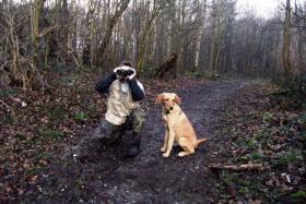 Foto 8 comford dog . seelsorgehund military comford dog squad k9  dog team nrw