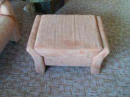 Foto 4 couchgarnitur,4 teile! sofas + sessel im Terrakottaton, top gepflegt