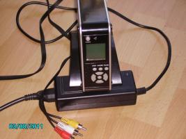 Foto 2 digitaler Multimediaplayer f�r SATA Festplatten mit Fernbedienung