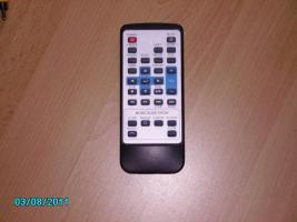 Foto 4 digitaler Multimediaplayer für SATA Festplatten mit Fernbedienung