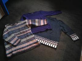 drei fast neue Pullover schick und selten getragen